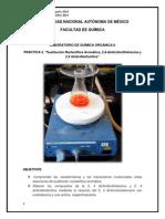 Práctica III Sustitución Nucleofílica
