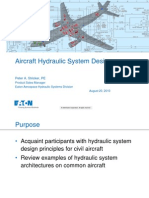 Aircraft Hydraulic System Design