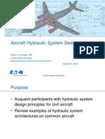 Aircraft Hydraulic System Design