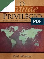 O Grande Privilégio - Paul Washer