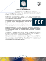 27-10-2010 El Gobernador Guillermo Padrés en entrevista informó continuará la gestión del presupuesto 2011 para Sonora en la ciudad de México, donde confirmó que sostendrá diversas reuniones con integrantes de la comisión de presupuesto, la secretaría de hacienda y diputados federales. B1010105