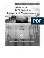 Manual for Maintenance of EHV Substation