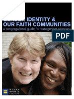 Gender Identity and Our Faith Communities
