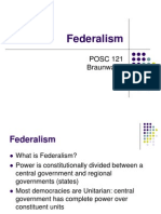 federalism ppt