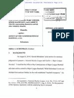 Garber v. MLB Sept. 22 Order