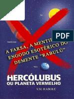 Hercolubus a Farsa de Rabulu e Seu Fantasioso Planeta Vermelho a FARSA de NIBIRU - Abgeschlossen