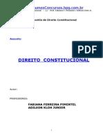 ( Direito) - Dir Constitucional Fabiana Kloh.doc
