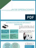 Clase Administracion de Operaciones