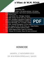 Dr Roan Homicide