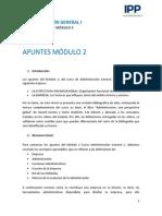 Apunte m2 Administracion 1