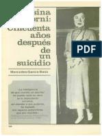 50 Años Despues de Un Suicidio