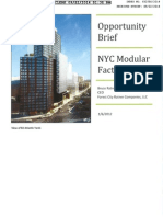 Forest City Ratner Modular Opportunity Brief, 1/6/12