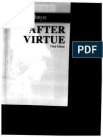 After Virtue Macintyre