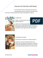 7 Must Read Literature for Kids (Plus UAE Books)