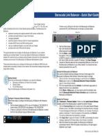 Qsg Barracuda Link Balancer Quickstart Guide