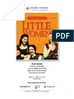 Little Women the Broadway Musical Play Guide