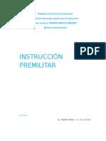 En qué consiste la Instrucción Premilitar.doc