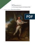 Brother Jonathan's Images, No. 8. Captain Samuel Blodget, Jr., 2d New Hampshire Regiment or New Hampshire Militia
