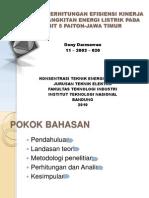 Analisis Dan Perhitungan Efisiensi PLTU