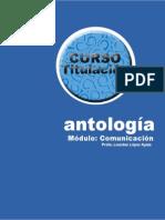 ANTOLOGÍA CURSO TITULACIÓN