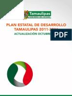 Plan Estatal de Desarrollo Tamaulipas