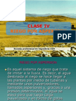 Clase 4-Riego Por Aspersion