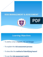 4 Risk Assessment