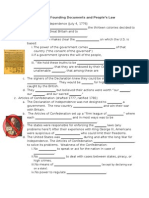 1-4 American Founding Documents STUDENT