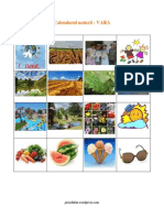Calendarul Naturii Vara