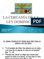 3 La Cercanía de La Ley Dominical.