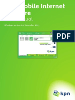 User Manual KPN Mobile Internet Software UK Windows v 3.0 High-Res