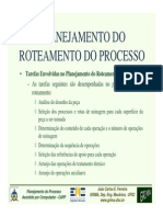 Planejamento Roteamento Processos