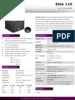Product Sheet - Elite 110