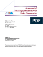 Assessment of Technology Infrastructure in Native Communities