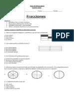 Guia Matematica Fracciones