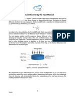TPN-68 Thermal Diffusivity by the Flash Method