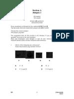 SET 2 (Section A)