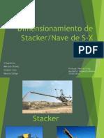 Dimensionamiento Stacker y Nave SX, Grupo 5