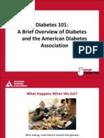 Diabetes 101