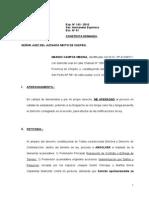 Contesta Demanda Resolucion Contrato -Medina