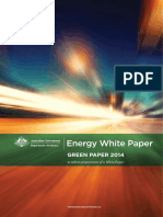 Australian Government Energy Green Paper September 2014