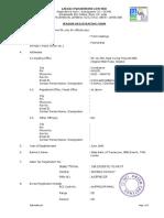 Vendor Registration Form