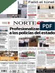 Periódico Norte edición del día 23 de septiembre de 2014