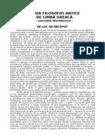 Istoria Filosofiei Antice 2 - 2014