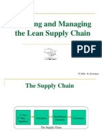 Building Lean Supply Chains