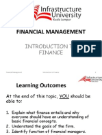 Chapter1 - Introduction to Finance