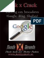 Hack x Crack Hacking Buscadores