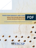 Trade performance and competitiveness