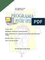 Optional_Clasa a III A