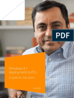 Windows 8.1 Deployment to PCs - A Guide for Education